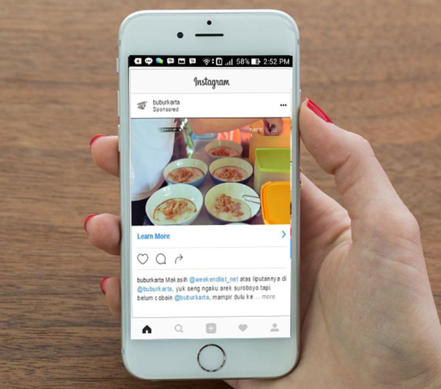 hal yang diperhatikan ketika pasang iklan di instagram
