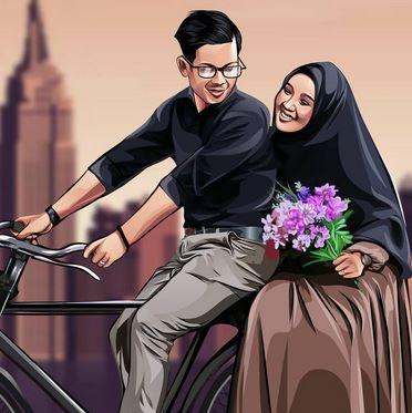Foto Prewedding Lebih Unik Dengan Jasa Vector