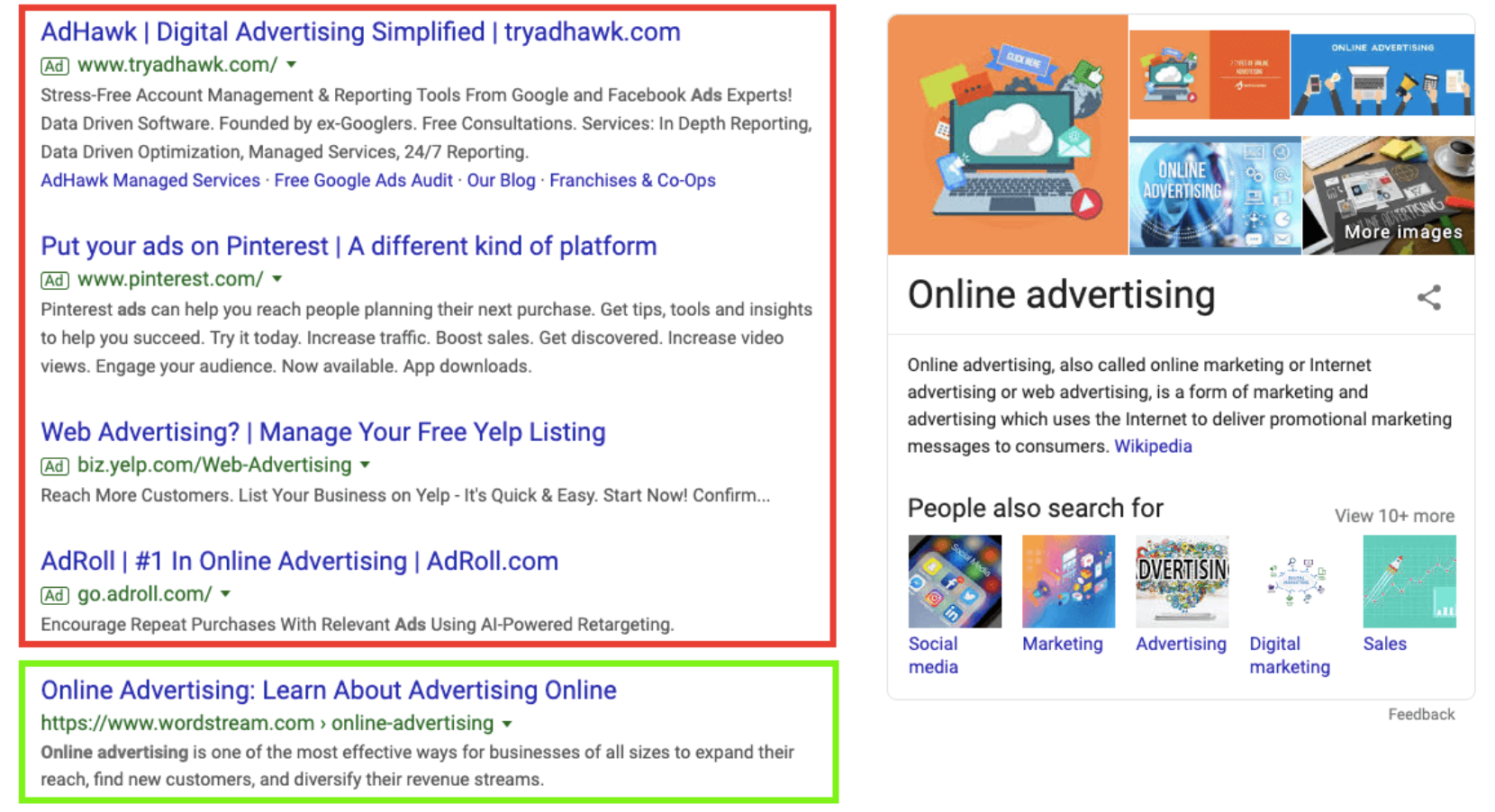 contoh tampilan iklan google ads